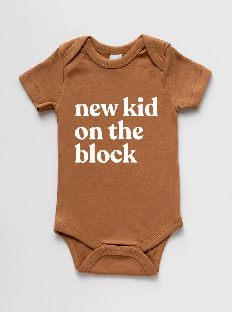 Brands We ♥︎ | New Kid On The Block Short Sleeve Bodysuit