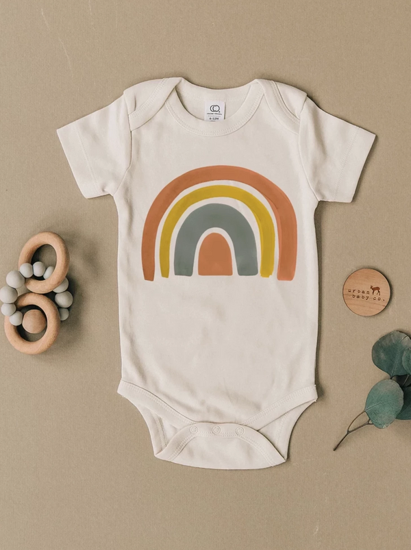 Brands We ♥︎ | Rainbow Short Sleeve Bodysuit