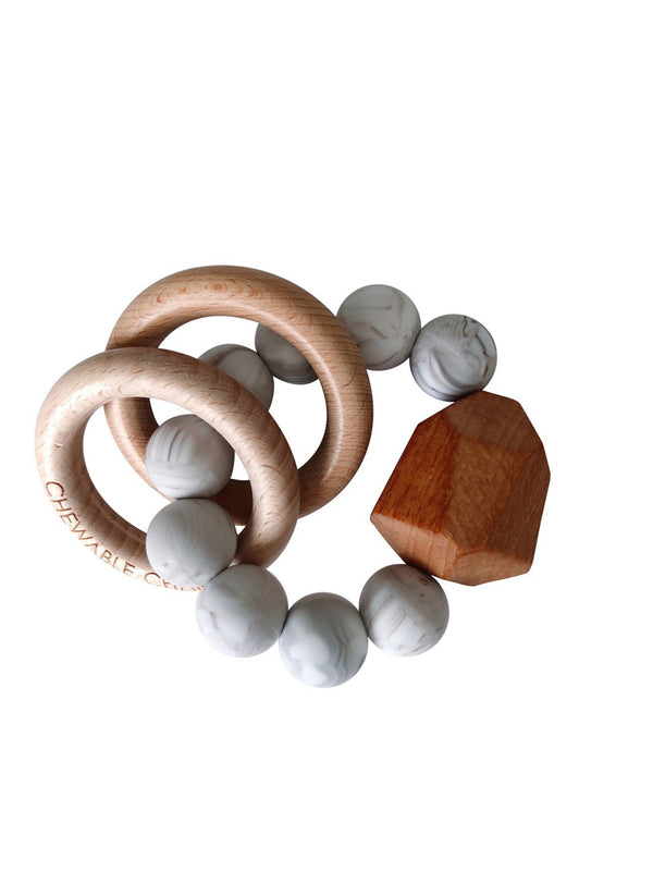 Brands We ♥︎ | Silicone + Wood Teether Ring