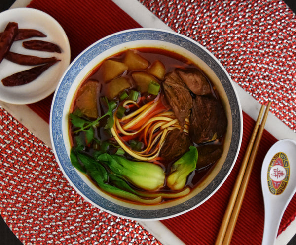 Spicy Beef Noodle Soup Kit (serves 4 to 8)