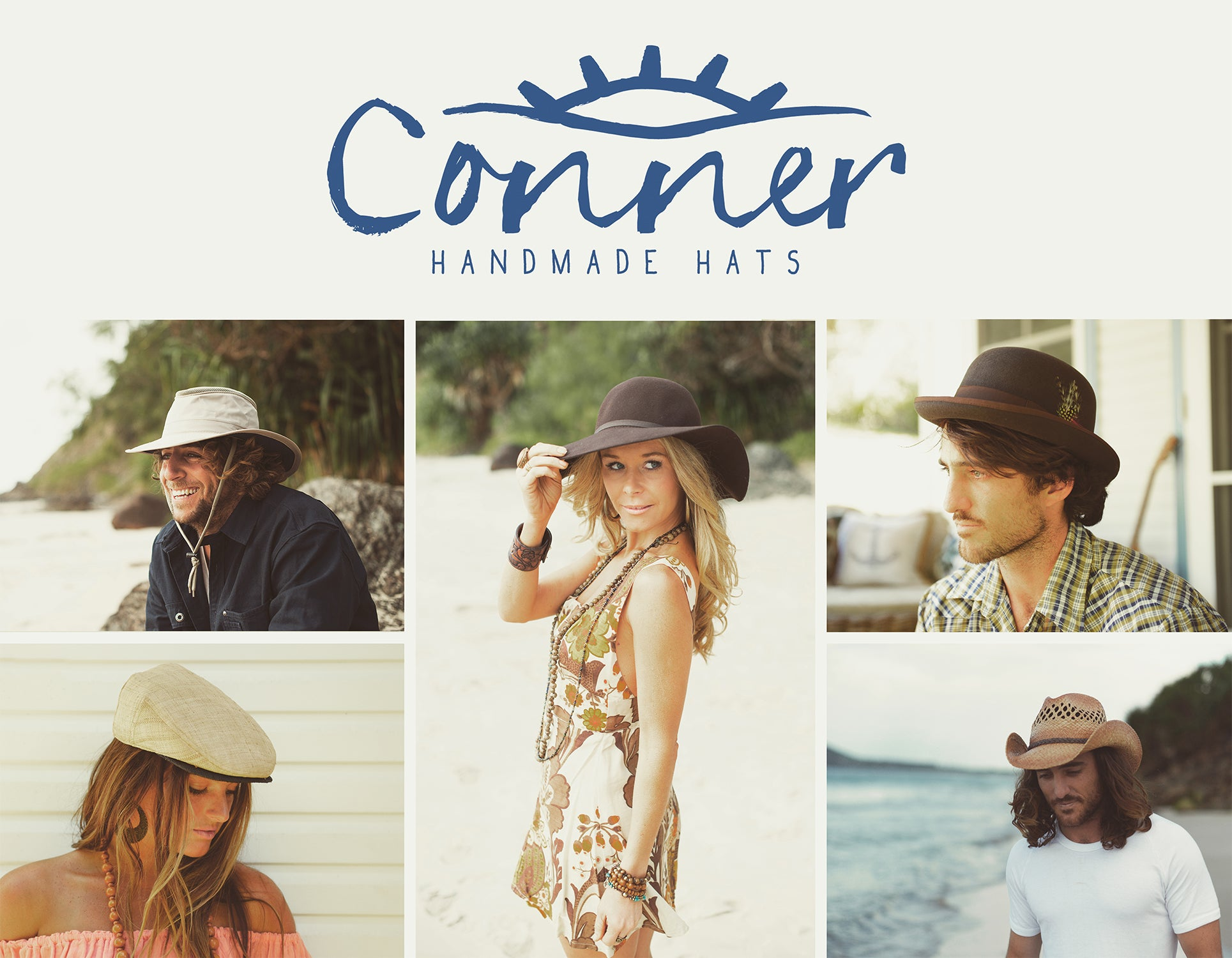 Conner Hats Collage