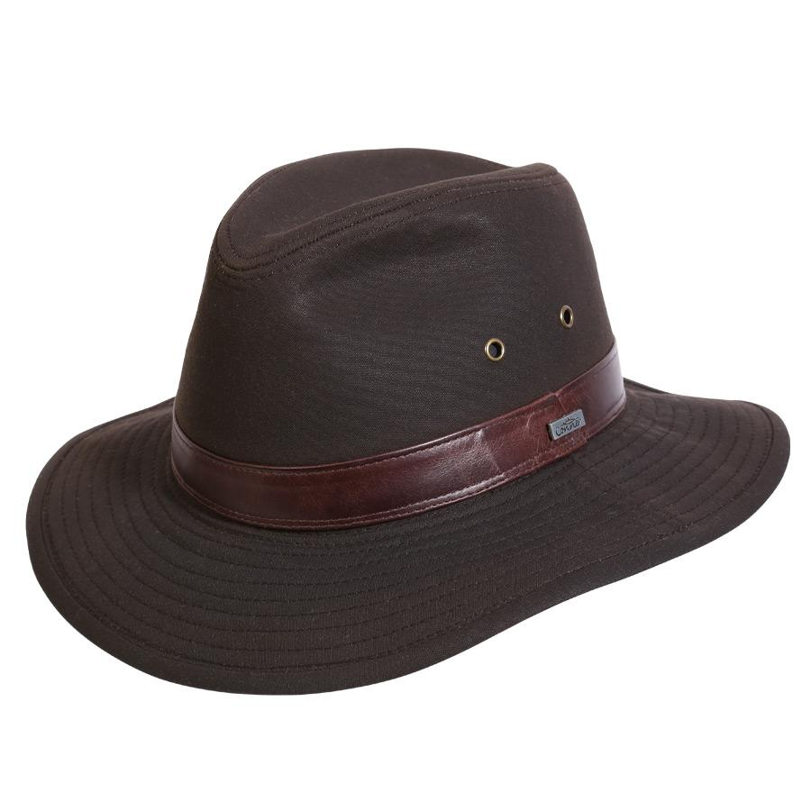 Cloth Hat Outback Hats Brown / Small Northern Front Oilskin Hat