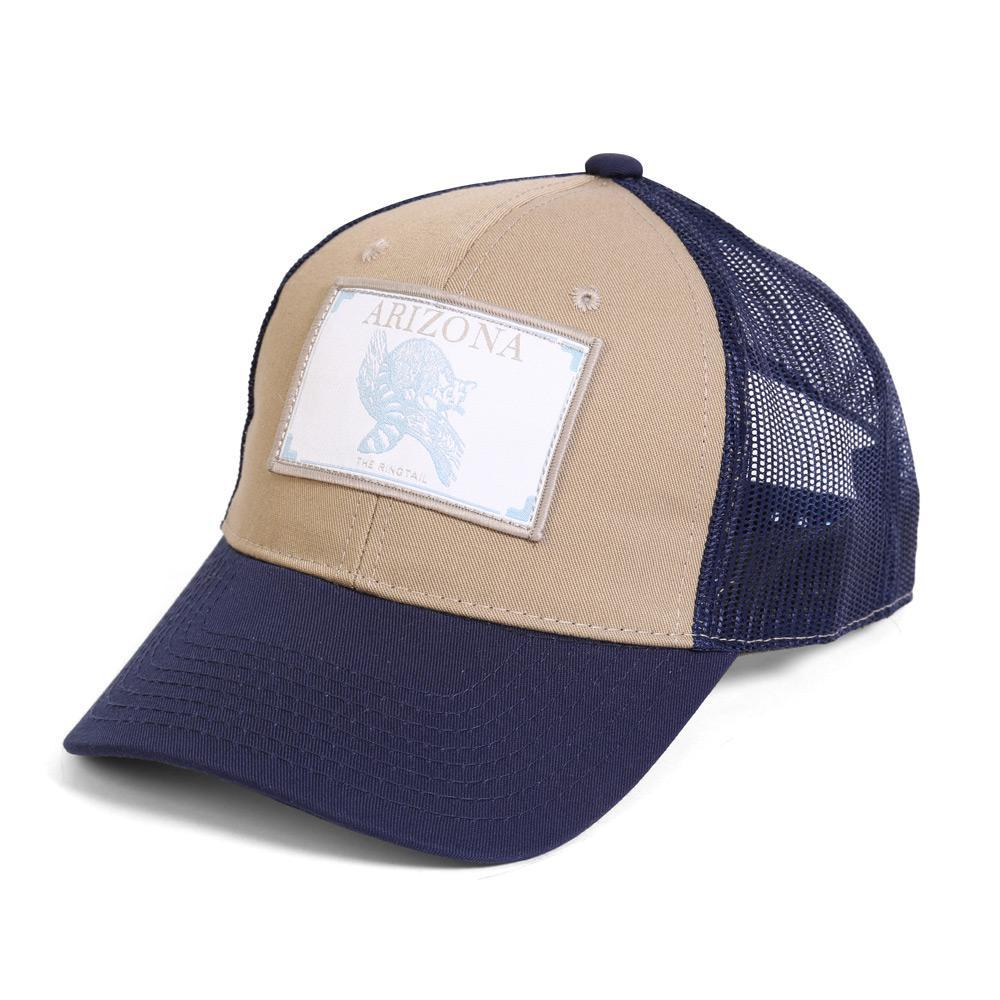 Conner Hats Khaki/Navy / One Size Arizona Ringtail State Wildlife Cap