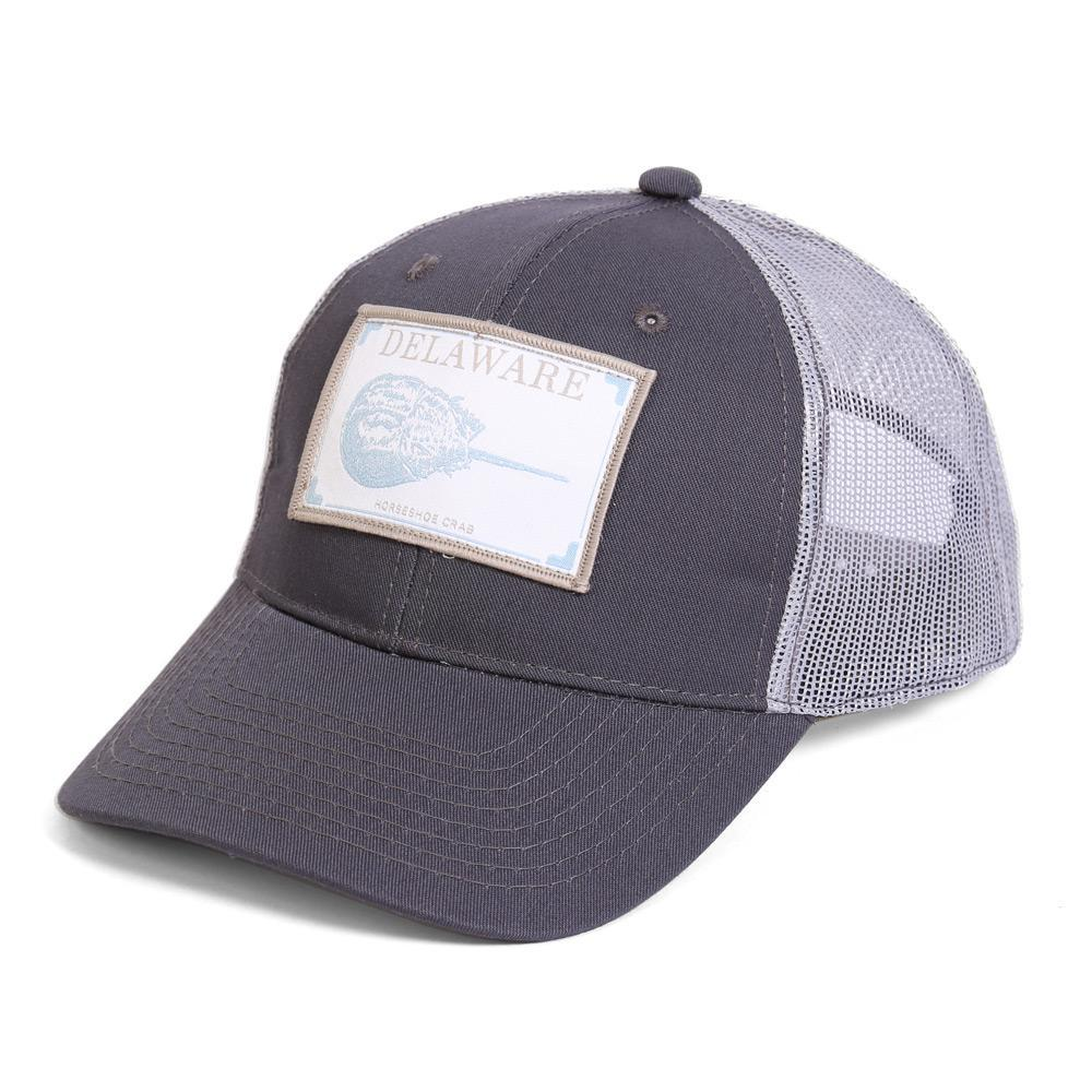 Conner Hats Grey/Light Grey / One Size Delaware Horseshoe Crab State Wildlife Cap