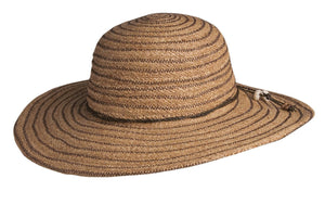 Conner Hats Floppy Hats Toast / One Size Byron Bay Summer Raffia Ladies Hat