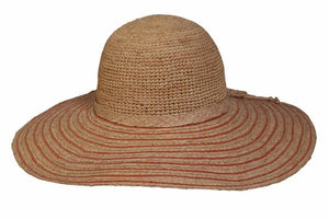 Conner Hats Floppy Hats Coral / One Size The Riveria Wide Brim Sun Hat