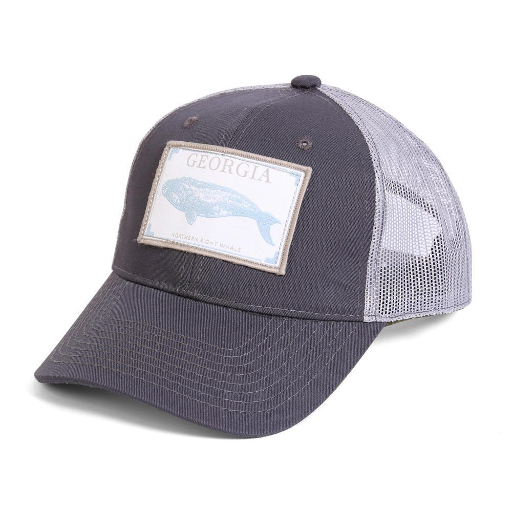 Conner Hats Grey/Light Grey / One Size Georgia Northern Right Whale State Wildlife Cap