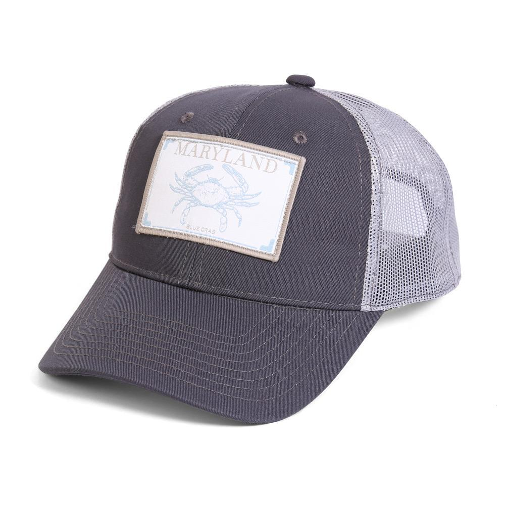 Conner Hats Grey/Light Grey / One Size Maryland Blue Crab State Wildlife Cap