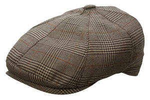 Conner Hats Newsboy/Flat Caps Brown / Small Oxford Plaid Newsboy Cap