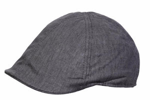 Conner Hats Newsboy/Flat Caps Charcoal / Small Savannah Sound Newsboy Cap