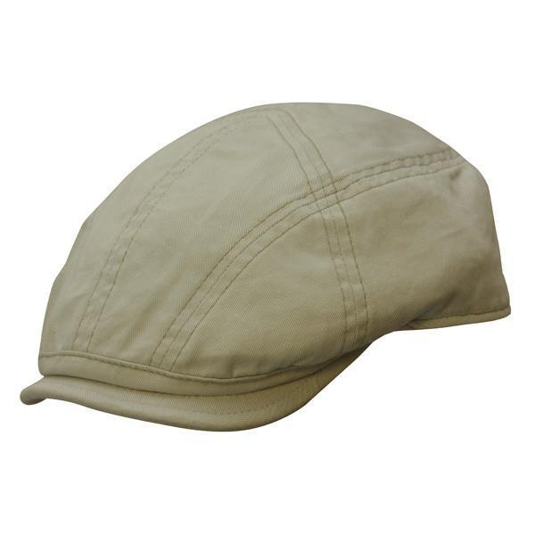 Conner Hats Newsboy/Flat Caps Putty / Small West Palm Organic Cotton Newsboy Cap