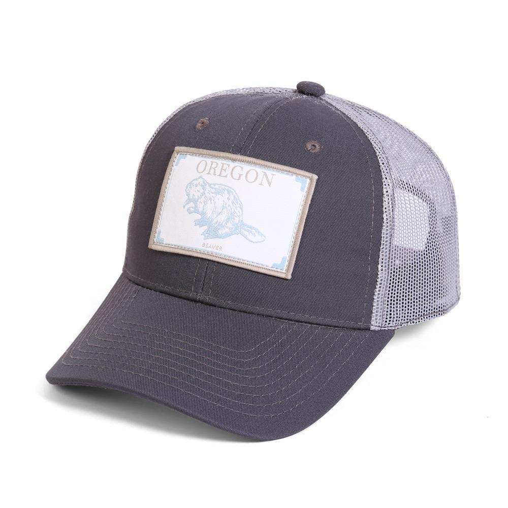 Conner Hats Grey/Light Grey / One Size Oregon Beaver State Wildlife Cap