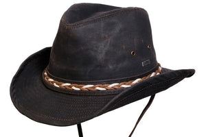 Conner Hats Outback Hats Brown / Small Trail Blazer Outback Cotton Hat