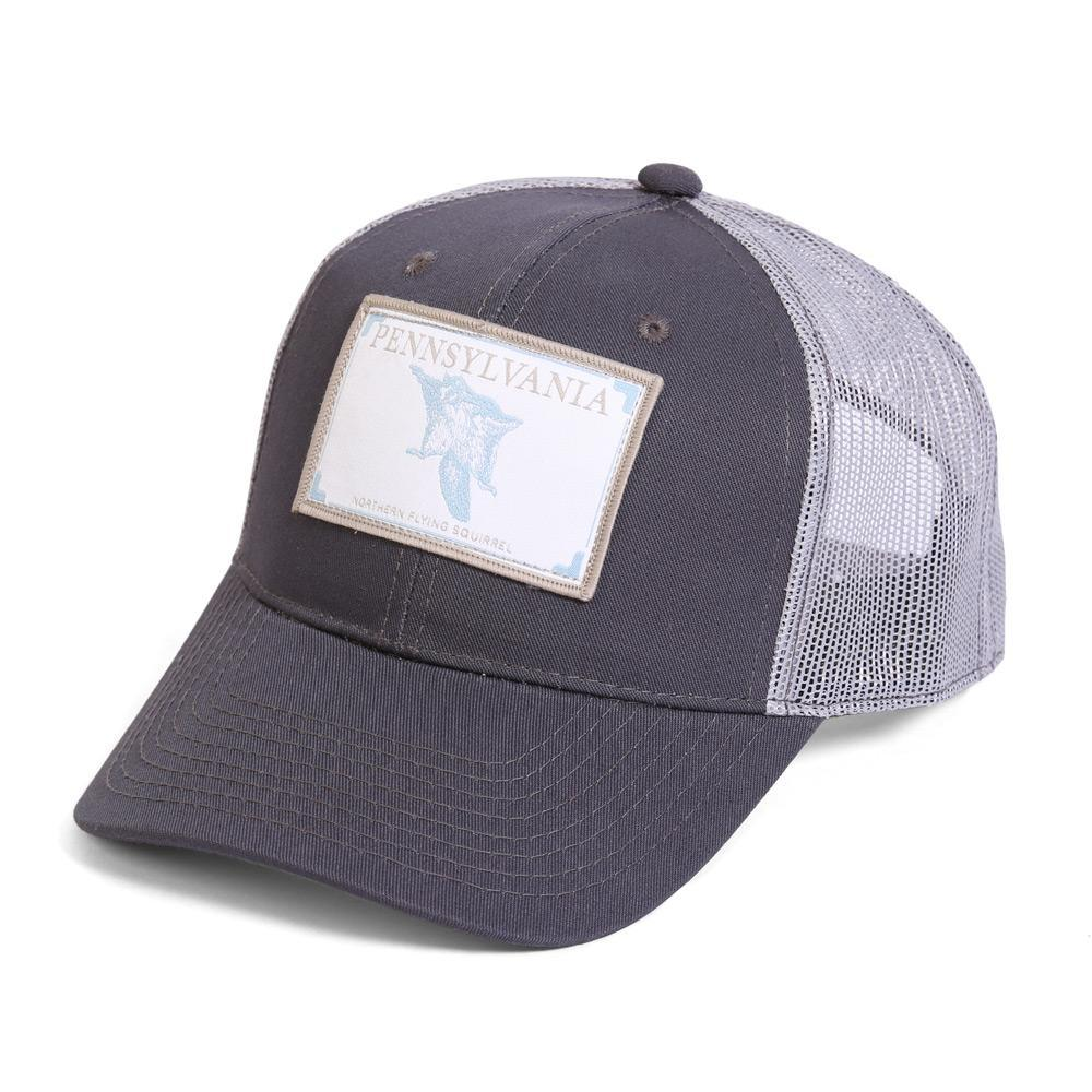 Conner Hats Grey/Light Grey / One Size Pennsylvania Northern Flying Squirrel State Wildlife Cap