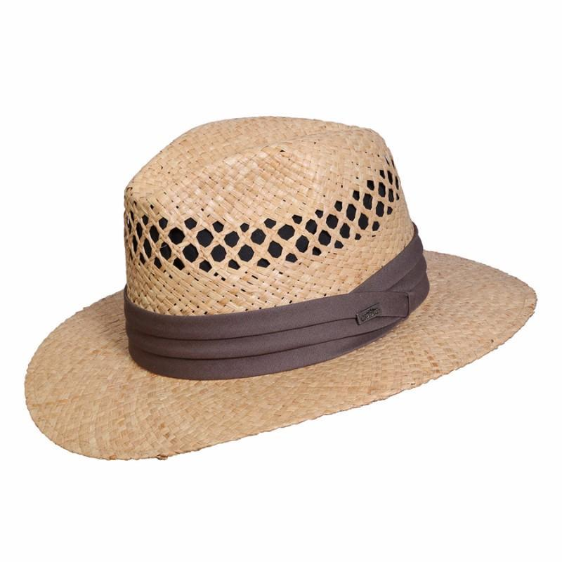 21067de0dfa Conner Hats Safari Hats Natural   Small Medium Beach and Tennis Organic  Raffia Hat