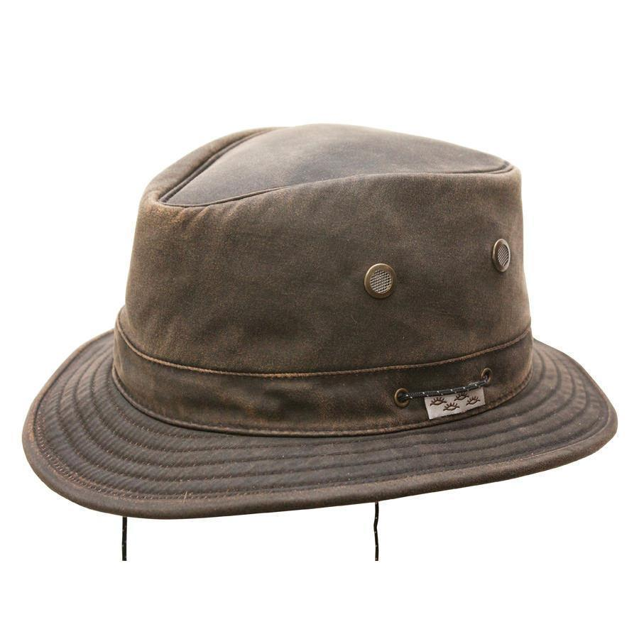 Conner Hats Safari Hats Brown / Small Jonathan Water Resistant Boater Hat