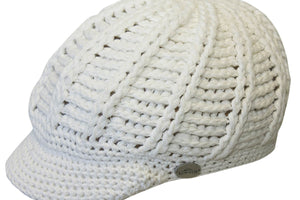Conner Hats Travel/Packable Hats White / One Size Can't Stop Smiling Beanie Cap