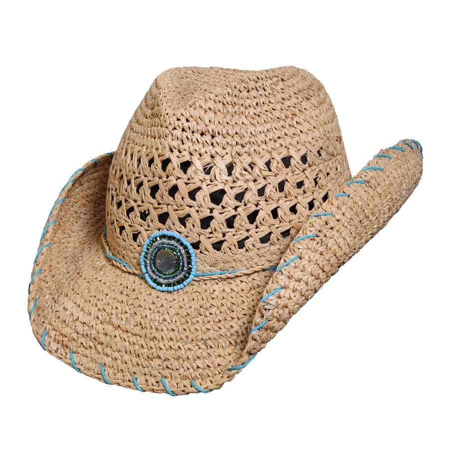 Abaco Western Crocheted Cowboy Hat Conner Hats