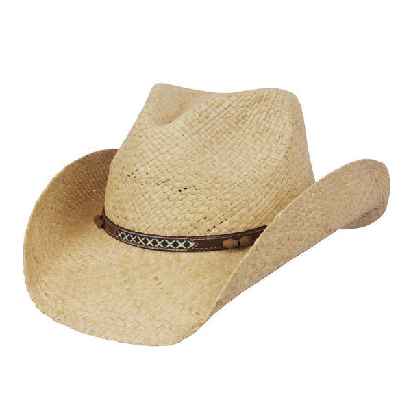 Conner Hats Western Hats Natural / One Size Abby Raffia Western Hat