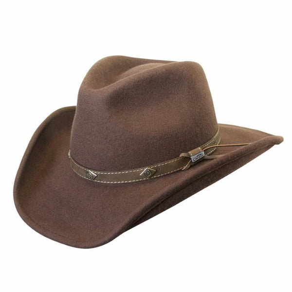 Conner Hats Western Hats Brown / Small Corral Shapeable Western Hat