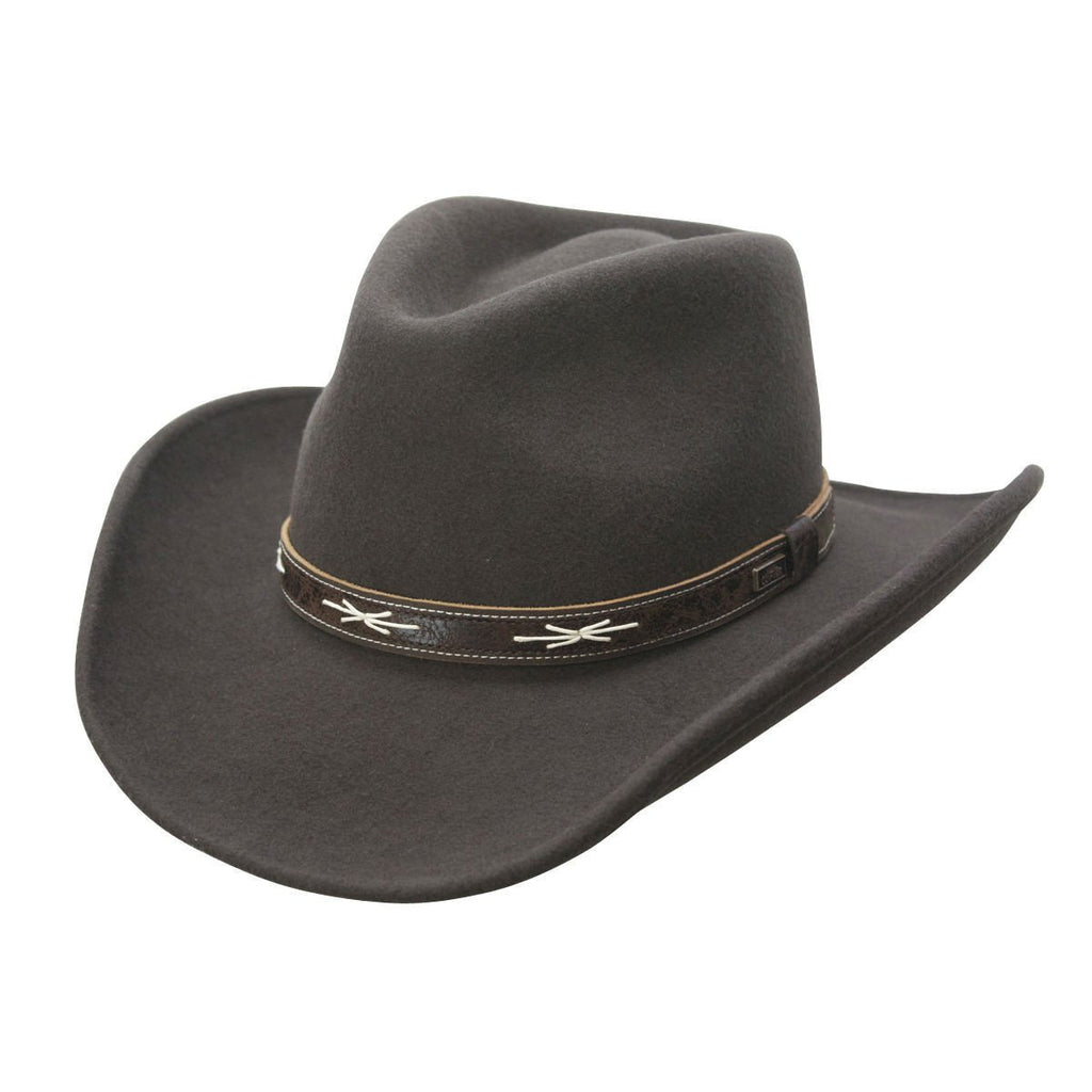 Conner Hats Western Hats Brown / Small High Noon Shapeable Western Wool Hat