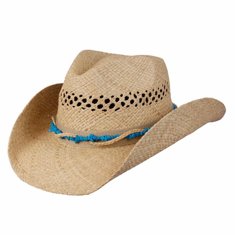 Conner Hats Western Hats Natural / One Size Stones & Straw Western Shapeable Hat