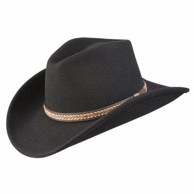 Conner Hats Western Hats Black   Small Stormy Canyon Shapeable Western Wool  Hat 0aed0d61318
