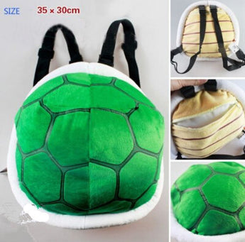 Super Mario Bros. Plush Bowser Stuffed Tortoise Bag: