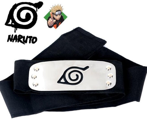 1Pc Naruto: Forehead Guard Headband - Cosplay