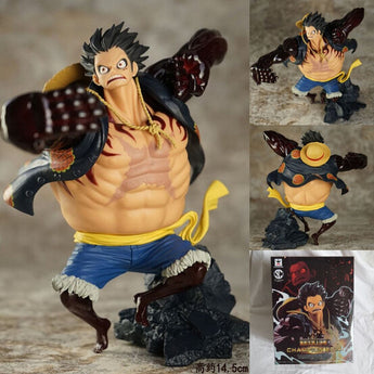 One piece: Gear fourth Monkey D Luffy action figure