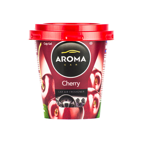 Aroma Car Cup Gel Cherry Standing