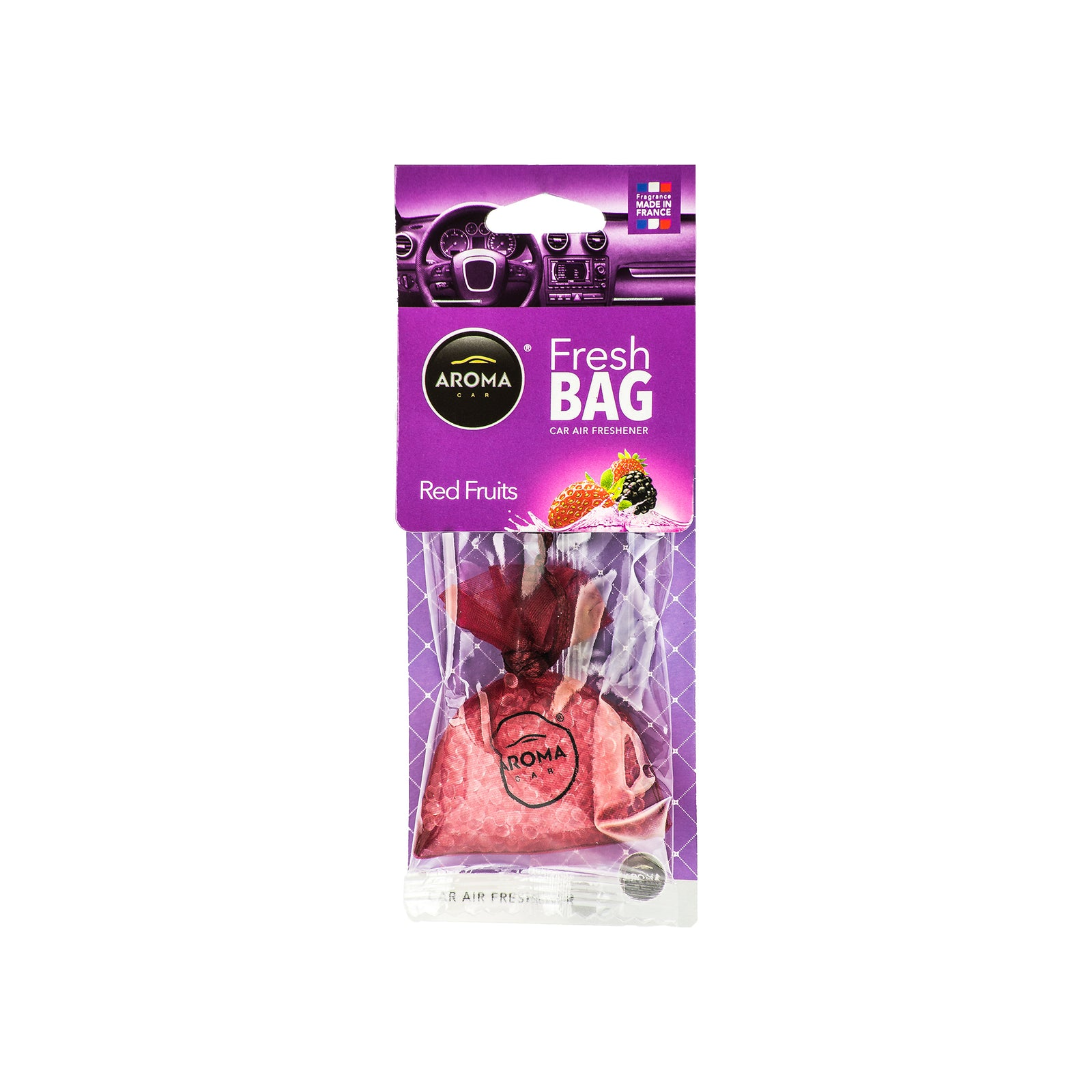 Aroma Car Fresh Bag Red Fruits Hanging Polymers