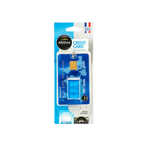 Aroma Car Intenso Eco 4 ml Aqua Blue Hanging Wood