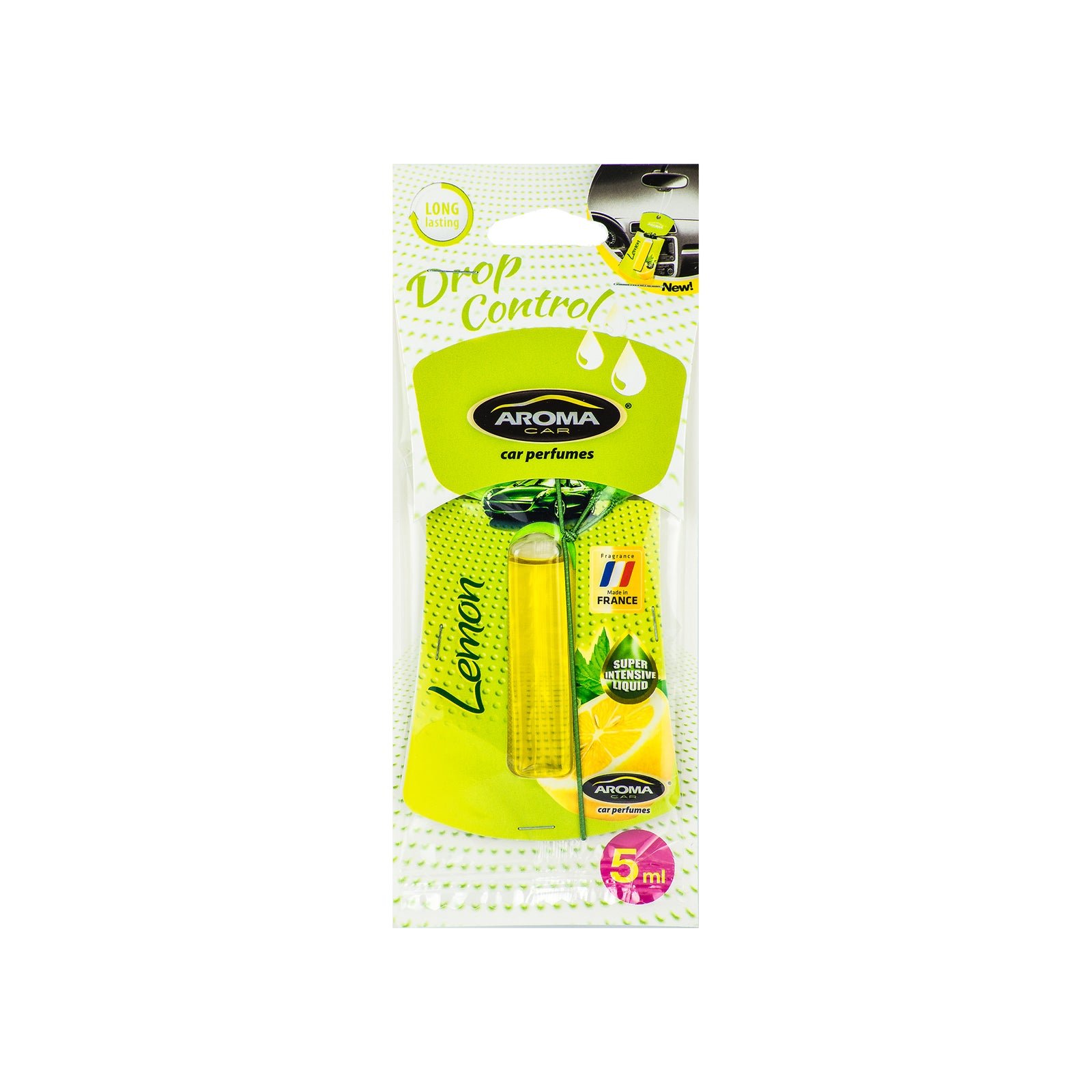 Aroma Car Drop Control Lemon Hanging Cellulose
