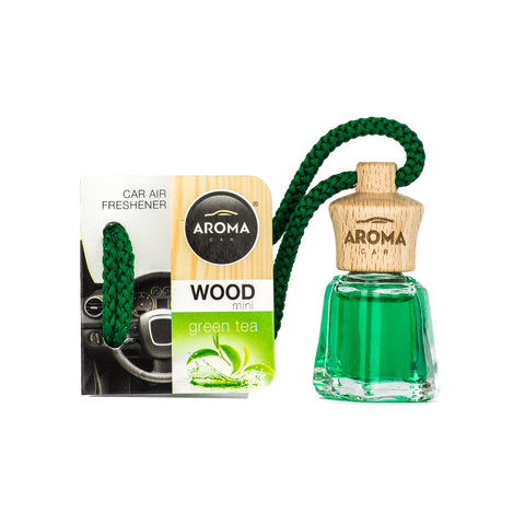 Aroma Car Wood Mini 4 ml Strawberry Hanging