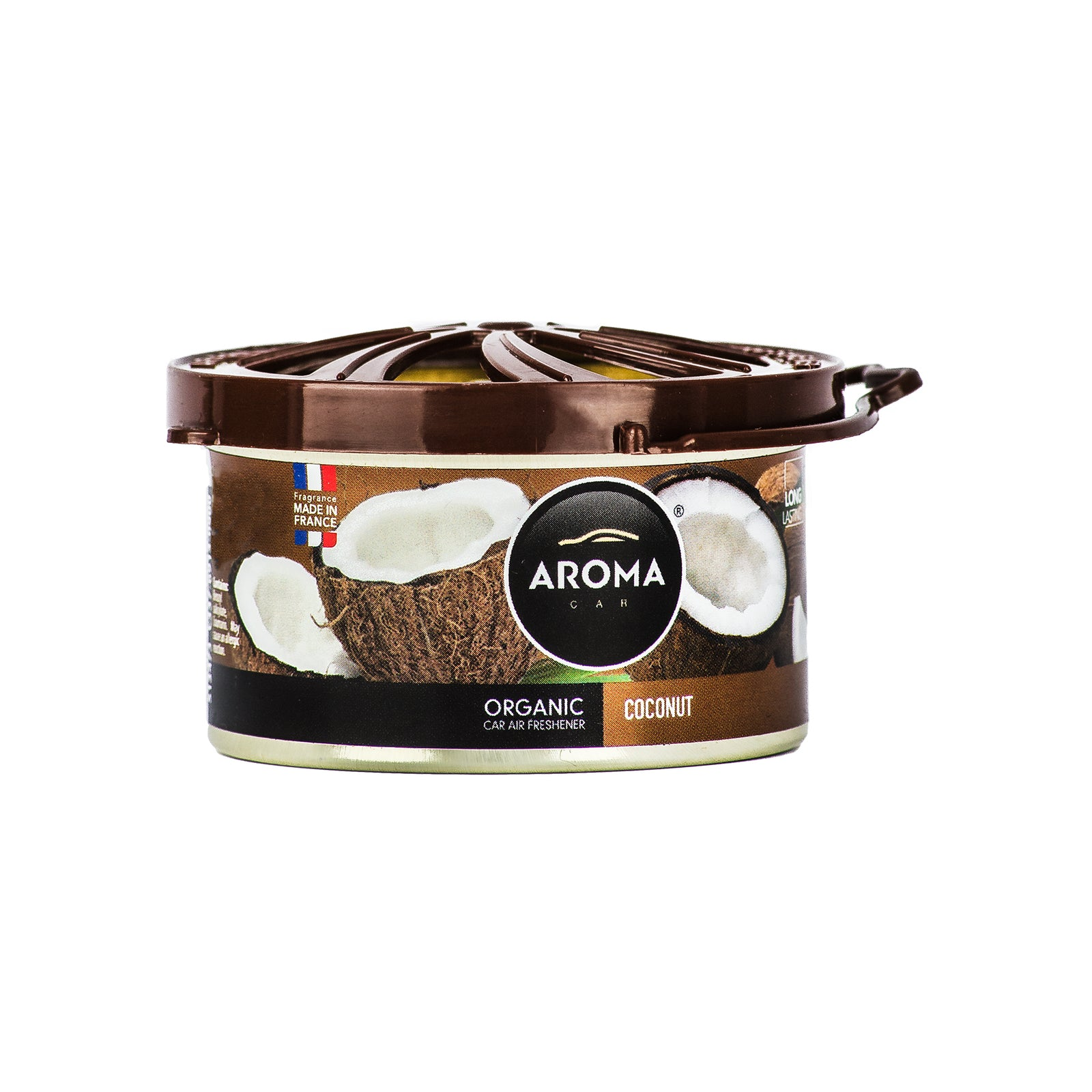 Aroma Car Organic 40g Coconut Standing