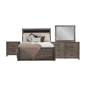 Stockton 6 Piece King Bedroom - Slate