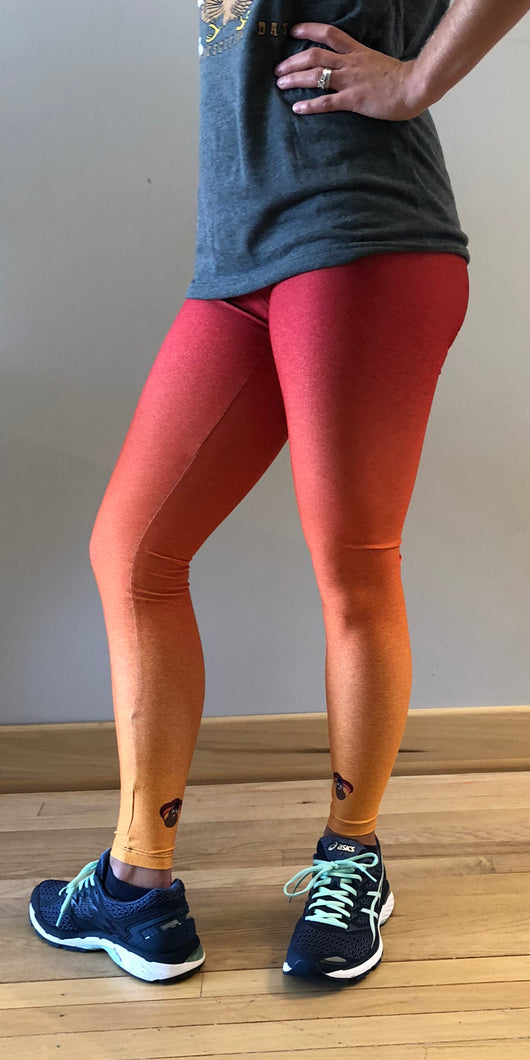 Women's Ombre DrumStick Dash Tight