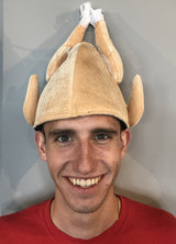 Plush Cooked Turkey Hat