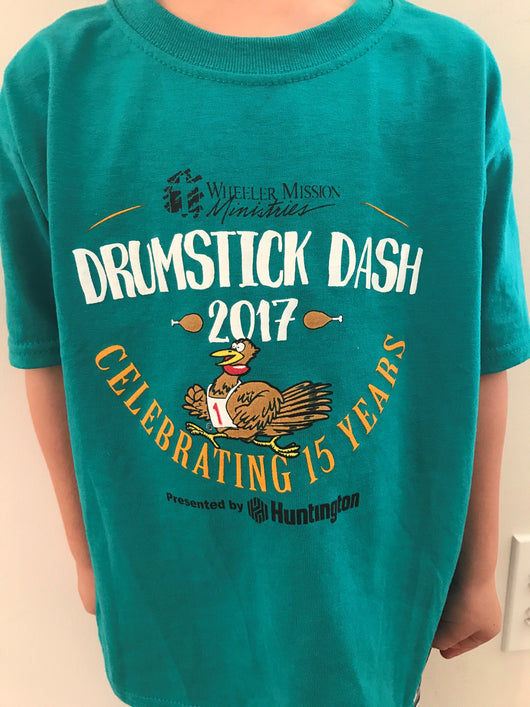 Youth Short Sleeve Drumstick Dash 2017 Shirt