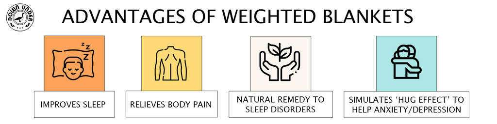 Advantages of weighted blankets