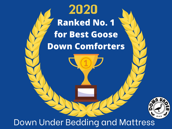 Down Under Bedding and Mattresses, Jasper Hutterite Duvet was ranked No 1 by Ezvid Wiki in 2020's Nine Best Goose Down Comforters
