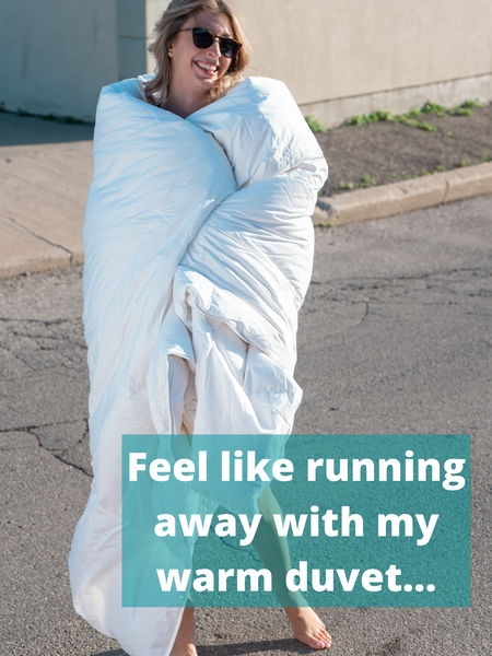 Running with duvet, warm, how to wash duvet comforter