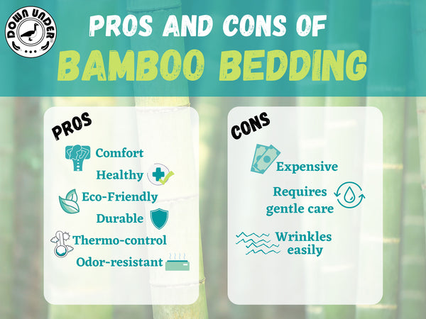 Pros and Cons of bamboo sheets advantages disadvantages