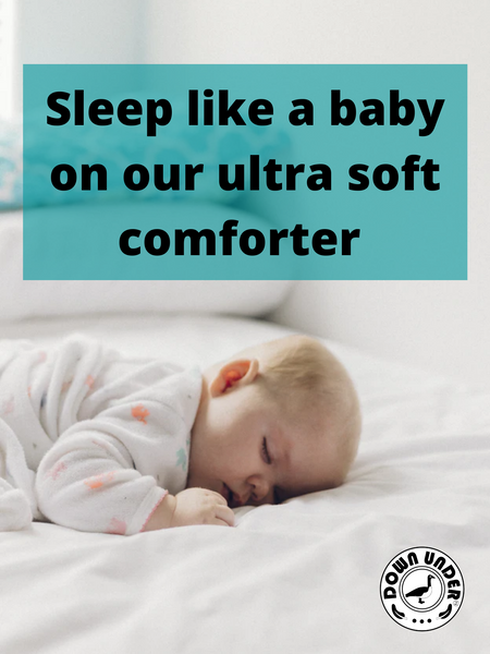 Sleep like a baby Down Under Duvet Comforter