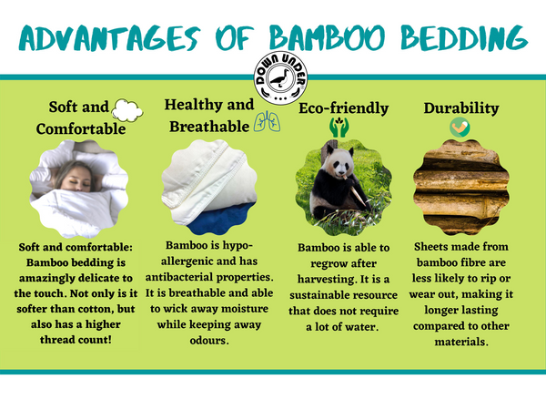 Advantages of bamboo bedding