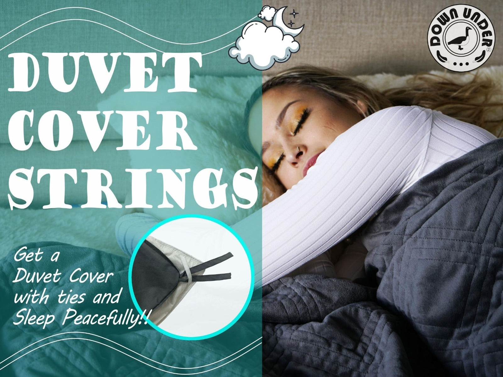 duvet cover ties