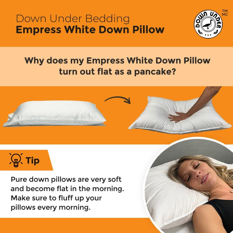 geese duck goose down bed pillow adjustable head support shoulder neck pain bed hotel fluffy cervical anti-snoring