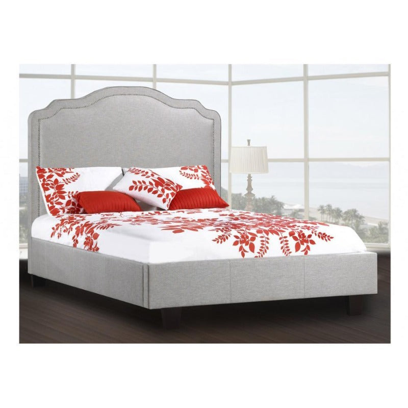 rosemount collection bedroom furniture marshall platform bed cozy classic room decor Canada upholstered leather king queen