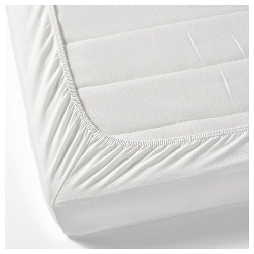 White Single Ply 500TC 1Pc Fitted/Flat Bed Sheet - Down Under Bedding and Mattresses